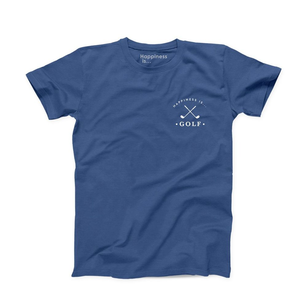 Men's Golf T-Shirt, Blue