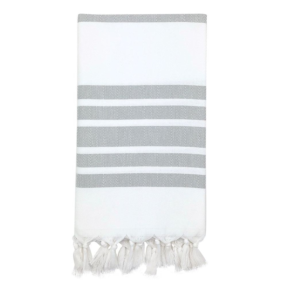 Herringbone Stripe Turkish Towel