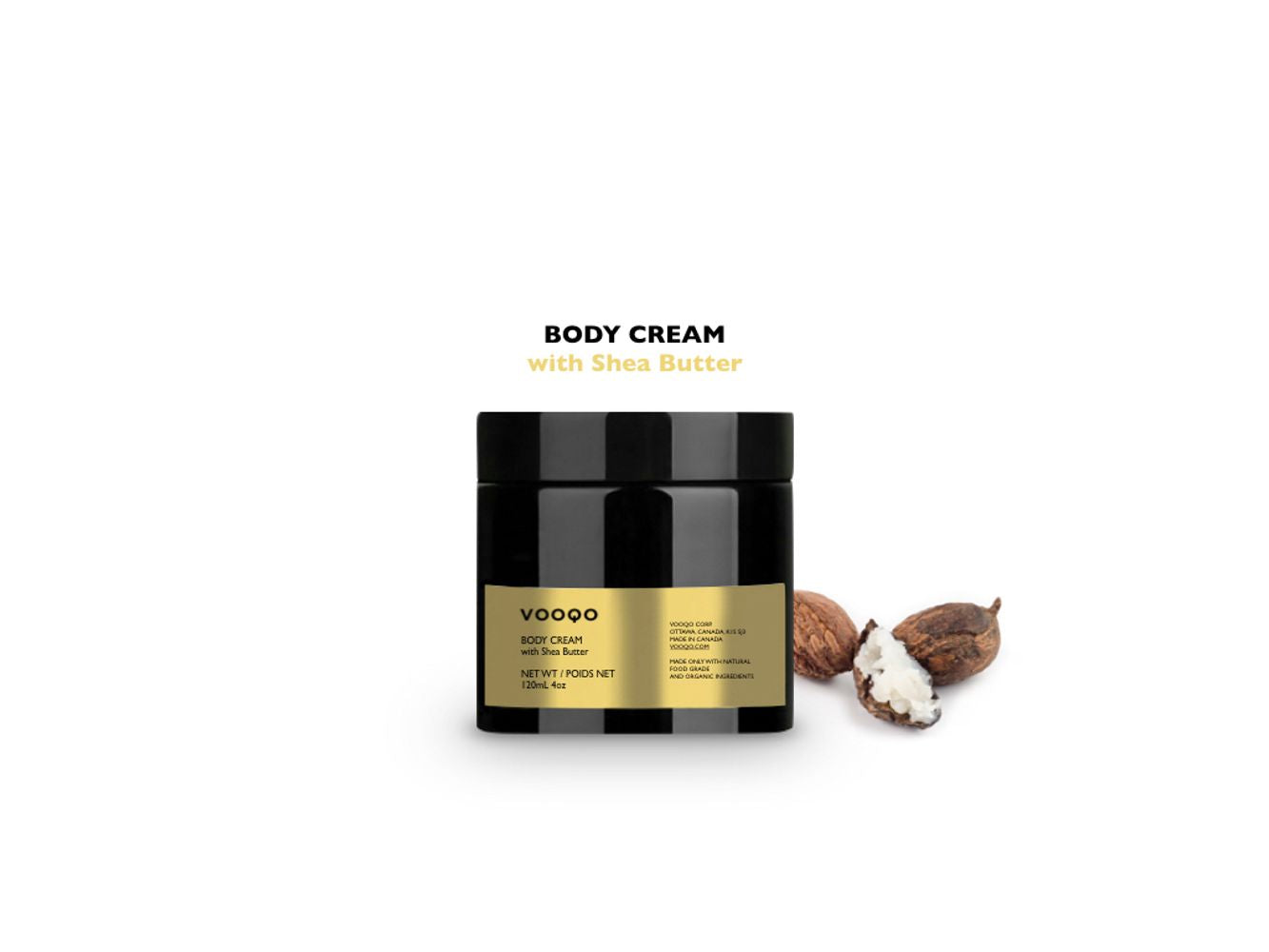 Body Cream with Shea Butter