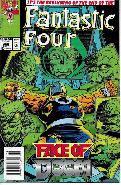 Fantastic Four (1961 1st Series) #380