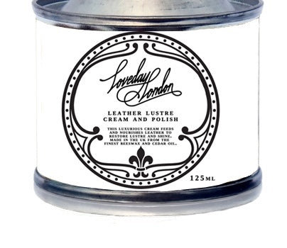 Leather lustre polish 125ml