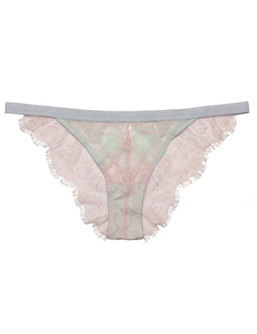 Georgia mesh and lace knicker