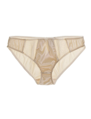 Eleanor Almond silk classic brief