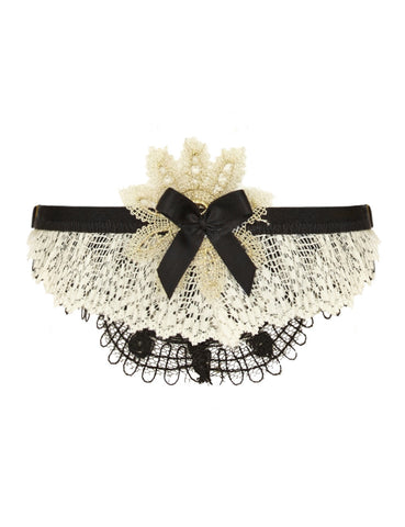 Frida lace garters set