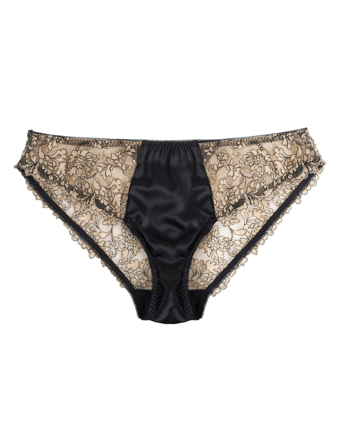 Isabelle embroidered classic brief