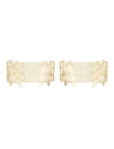Signature Bow garter set