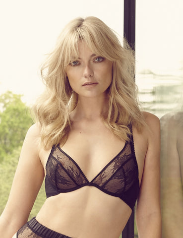 Rebel lace plunge bra