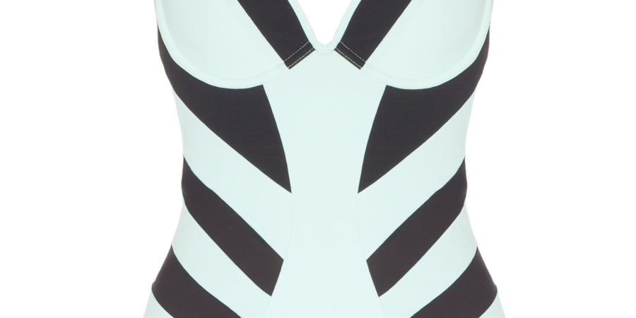 Marine Eurojersey underwired swimsuit