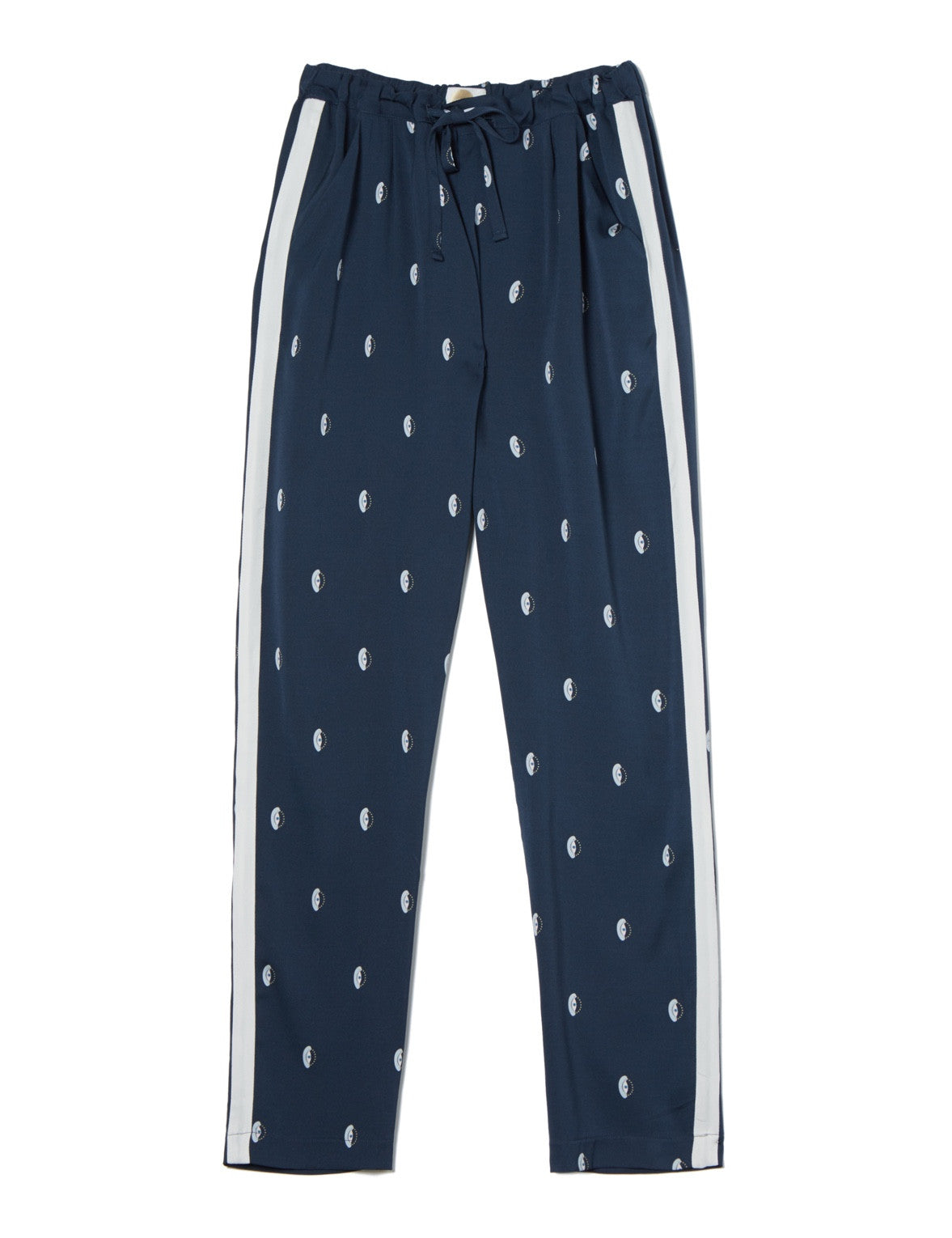 Libertine printed stretch silk loungepant