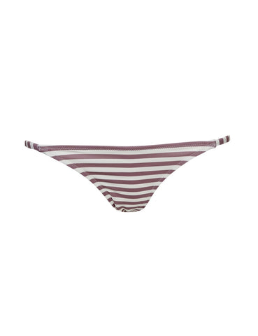 Chloe striped bikini bottom