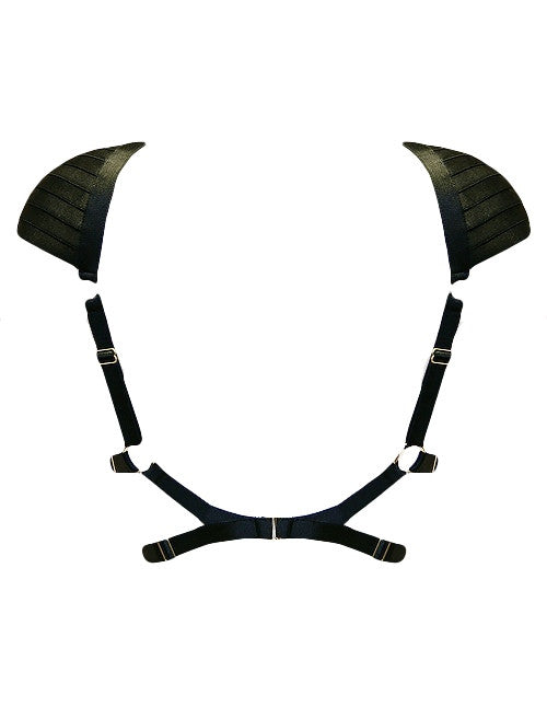 Signature Voyeur harness with padded shoulders