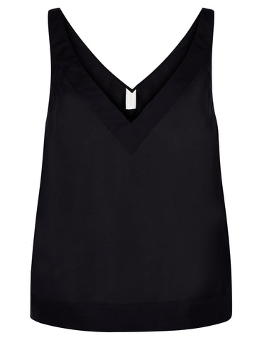 Wrap cotton camisole