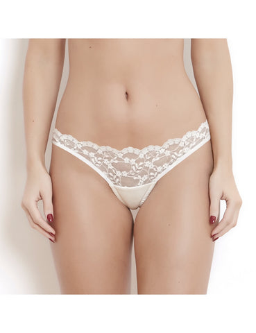 Sophia ivory lace briefs