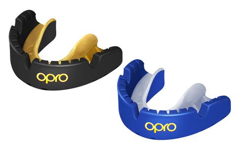 OPRO Gold Braces Self-fit Gen4 Mouthguard