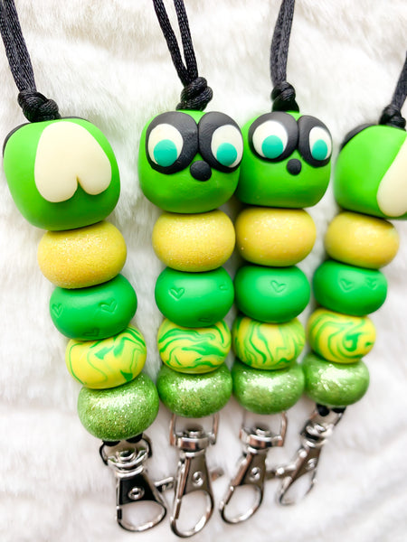 Green Lovebug Lanyard