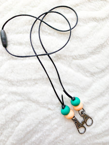 Tropical Mask Lanyard
