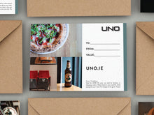 Load image into Gallery viewer, UNO Dine In Voucher €20