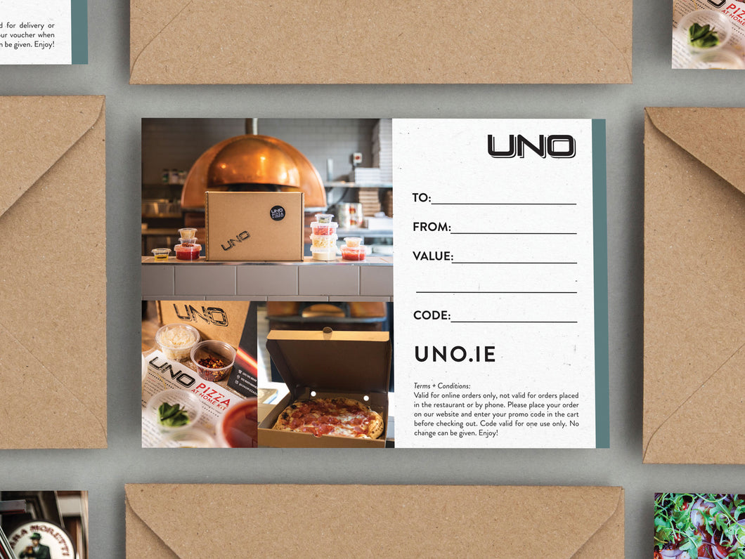 UNO Home Kit Voucher €50