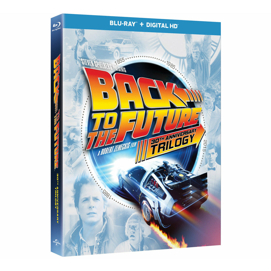 Back to the Future 30th Anniversary Trilogy (Blu-ray + Digital HD) [2015]