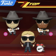 Load image into Gallery viewer, Funko POP! Rocks: ZZ Top - Billy Gibbons (Flocked) Vinyl Figure