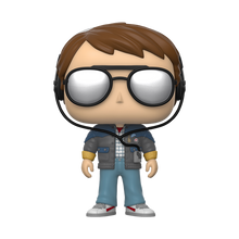Load image into Gallery viewer, Funko POP! Movies Back to the Future Vinyl Figure - Marty w/glasses