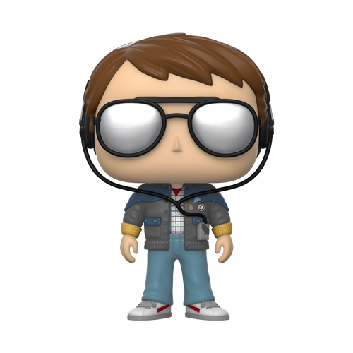 Funko POP! Movies Back to the Future Vinyl Figure - Marty w/glasses