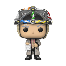 Load image into Gallery viewer, Funko POP! Movies Back to the Future Vinyl Figure - Doc w/helmet