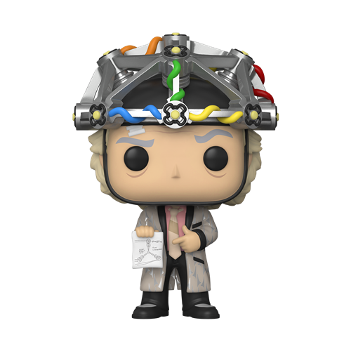 Funko POP! Movies Back to the Future Vinyl Figure - Doc w/helmet