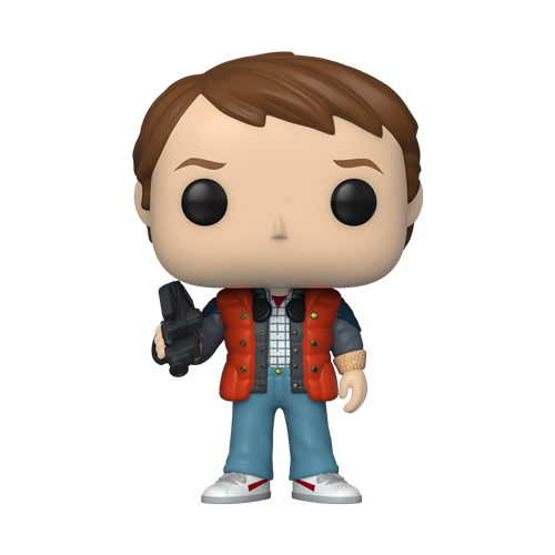 Funko POP! Movies Back to the Future Vinyl Figure - Marty in Puffy Vest