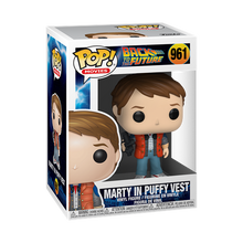 Load image into Gallery viewer, Funko POP! Movies Back to the Future Vinyl Figure - Marty in Puffy Vest
