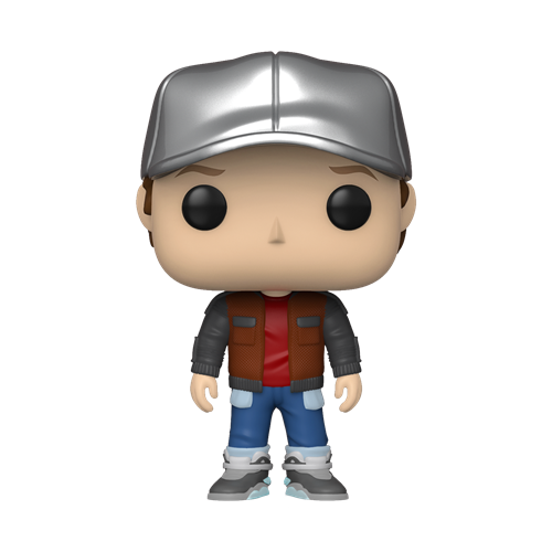 Funko POP! Movies Back to the Future Vinyl Figure - Marty in Future Outfit