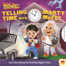 Load image into Gallery viewer, 'Back to the Future: Telling Time With Marty McFly' Children's Board Book