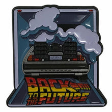 Load image into Gallery viewer, Back to the Future Limited Edition DeLorean Time Machine Pin Badge