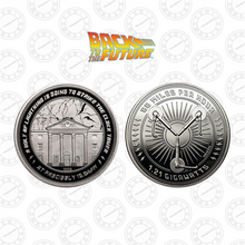 Load image into Gallery viewer, Back to the Future Clocktower Limited Edition Commemorative Coin