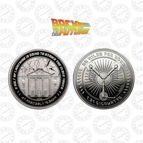 Back to the Future Clocktower Limited Edition Commemorative Coin