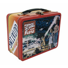Load image into Gallery viewer, Back to the Future OUTATIME Retro Style Tin Tote / Lunch Box