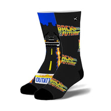 "Load image into Gallery viewer, Back to the Future ""Time Traveler"" Unisex Socks (Size 6-13)"