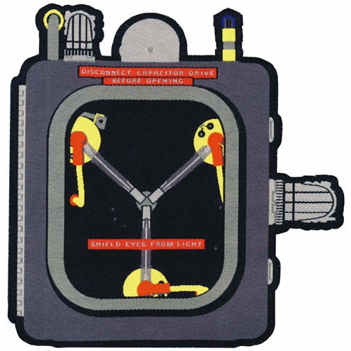 Time Machine Restoration Team 'Flux Capacitor' Patch (Fine-Woven Version)