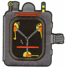 Load image into Gallery viewer, Time Machine Restoration Team 'Flux Capacitor' Patch (Embroidered Version)