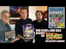 Load and play video in Gallery viewer, Back to the Future Almanac: 1985-2015 Official Collector's Guide hardcover book by Rob Klein and Jennifer Smith