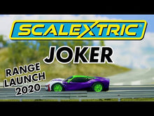 Load and play video in Gallery viewer, Scalextric Back to the Future 1:32 scale DeLorean Slot Car