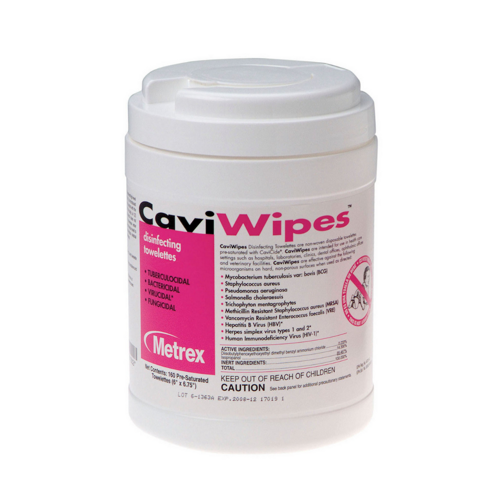 CaviWipes Disinfectant Wipes Large 160 Count