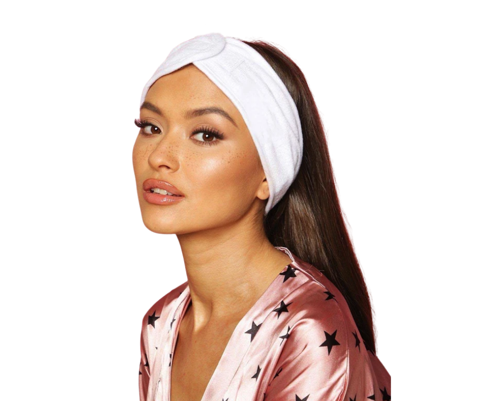 Spa headband for women