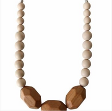 Load image into Gallery viewer, The Austin - Cream Teething Necklace