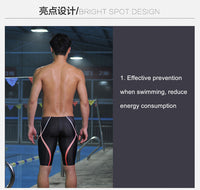 NSA Sharkskin Quick Drying Men Swimwear Brief Swimming Trunks Shorts Bathing Short Pants Boy Outdoor Waterproof Sport SwimTrunks