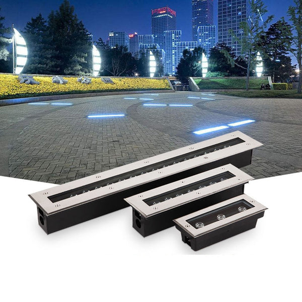 New LED Underground Light For Outdoor Garden Floor Light LED  Stairs Buried lamp Recessed Yard Wall Washer AC85-265V 12V IP67