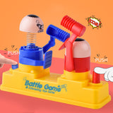 BalleenShiny Mini Baby Toys Kids Doll Double Battle Game Parent-Child Interactive Hammer Hiding Game Baby Early Education random