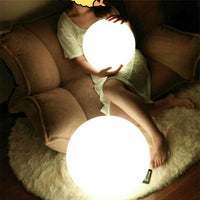 Modern Ball Floor Lamp Simple PVC Living Room Standing Lamp Bedroom Lights Bedside Lights Home Deco Ball Floor Color Lamp