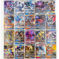 300 Pcs no repeat Pokemons GX card Shining TAKARA TOMY Cards Game TAG TEAM VMAX Battle Carte Trading Children Toy