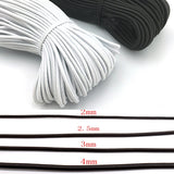 2/2.5/3/4/5/6mm Strong Elastic Rope Bungee Shock Cord Stretch String For DIY Jewelry Making Garment Sewing DIY Handmade craft
